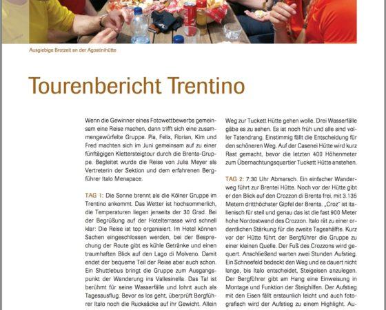 Reportage zum Fotowettbewerb des DAV Sektion Köln-Rheinland